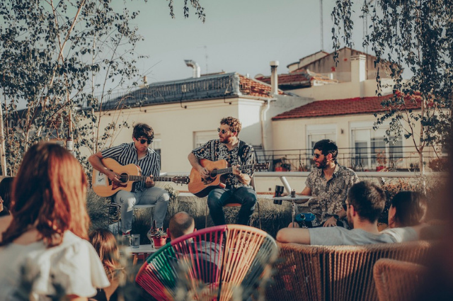 The Attic Madrid - Conciertos en terrazas