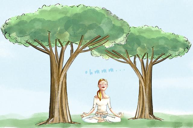 Yoga en el Retiro