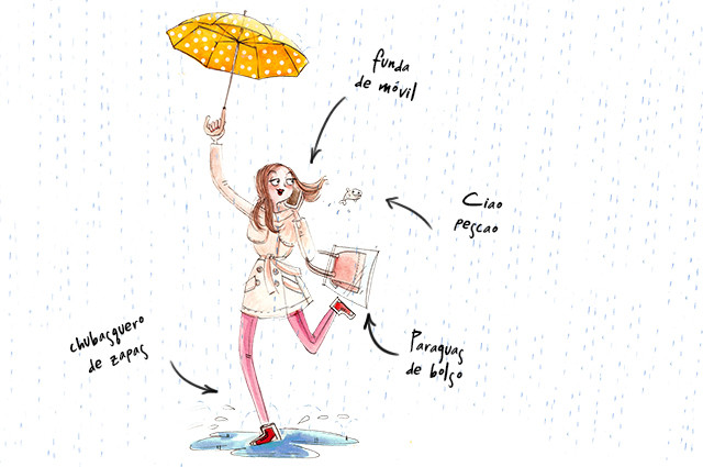 Accesorios para días de lluvia