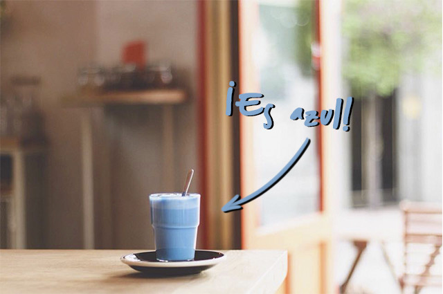 Blue Latte Religion Coffee