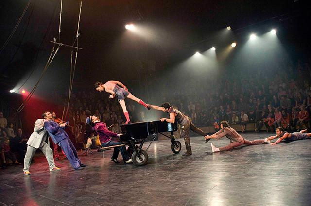 Circo Klaxon al aire libre