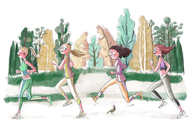Club de running en Madrid