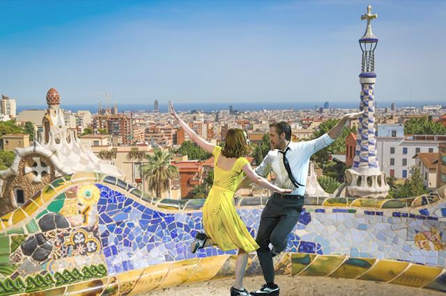 7 planes en Barcelona La La Land