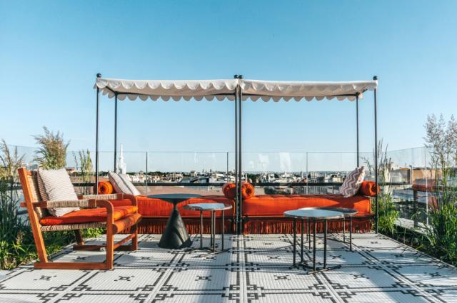 Picos Pardos Sky Lounge - Terraza Bless Hotel Madrid