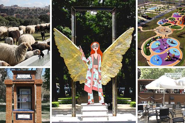 Planes diferentes en parques de Madrid