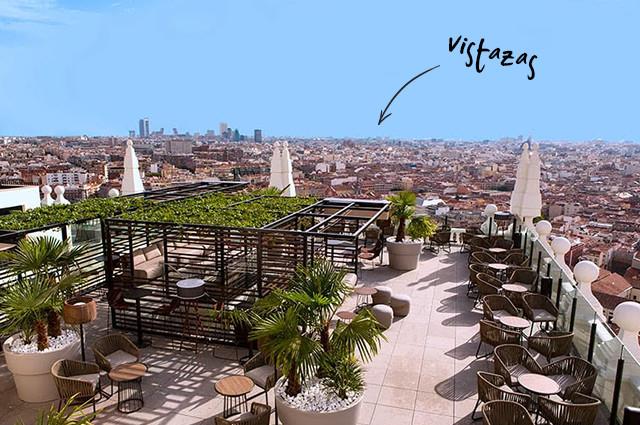 Terraza Hotel Riu Plaza España