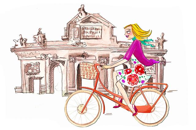 Zarzuela en bici