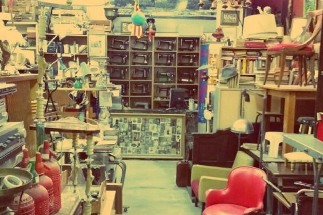 Tienda de antigüedades Columpiu en Barcelona
