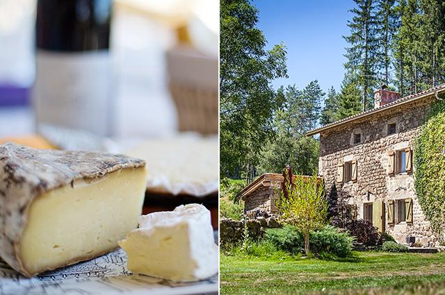 Ruta de los quesos en Auvernia