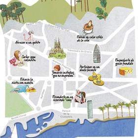 Mapa Frío Barcelona